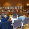 40 Jahre Austausch des WHG mit Chennevières: Empfang der deutsch-französischen Schülergruppe im Durmersheimer Rathaus