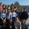20 Schülerinnern und Schüler des WHG beim Gegenbesuch in Chennevières